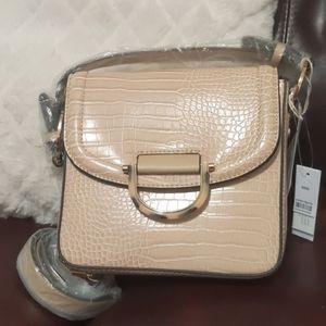 Topshop  Carrie Croc Shoulder Bag